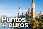 Use your points and explore Zaragoza